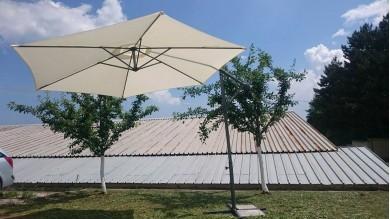 НОВО : чадър с размери 3 х 3 метра