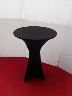 Коктейлна маса с черен стреч